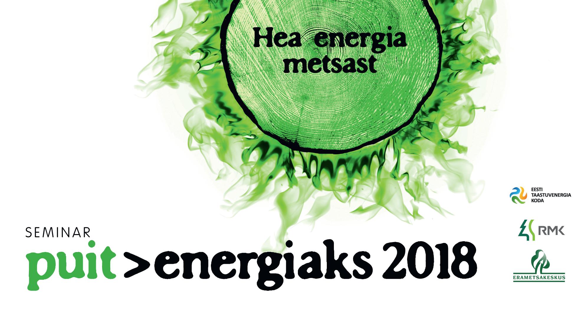 Puit energiaks 2018