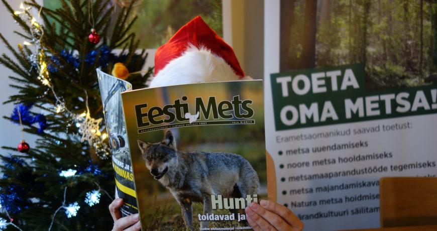 Eramets, Eesti Mets, metsandus, päkapikk, jõulud