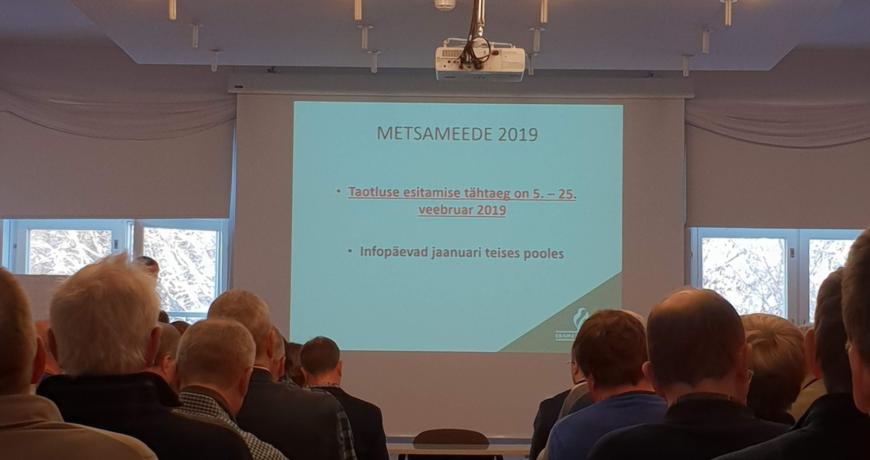 metsameede, hooldusraie toetus 2019