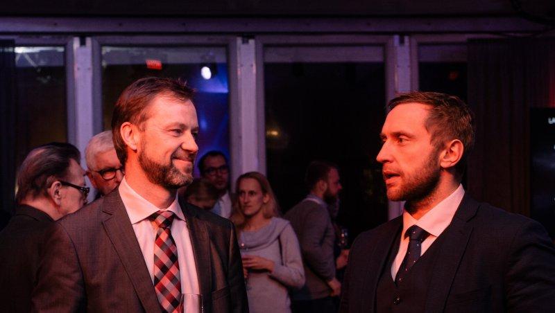 Vasakult KIKi juht Andrus Treier, paremal Keskkonnaministeeriumi kantsler Meelis Münt. Foto: Raul Mee