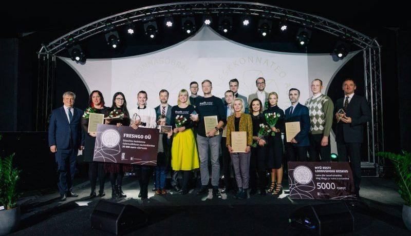 Keskkonnatunnustused konkursi 2018. aasta võitjad. Fotod: Raul Mee